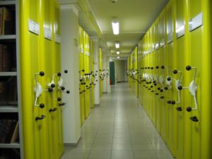 VARIA regały przesuwne archiwalne Foreg, mobile racking system