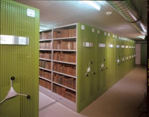 VARIA regały archiwizacyjne FOREG, pojizdné regály