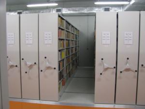VARIA regały jezdne biblioteczne Foreg, estanterías móviles